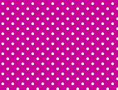 Jpg. Pink Background with White Polka Dots