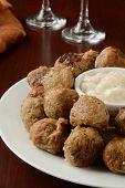 Meatballs As An Appetizer