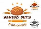 Bakery Shop label or badge