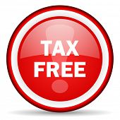 tax free web icon