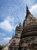 pagoda at Ayutthaya, Thailand