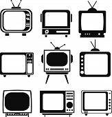 Tv Set Icons