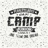 Junior Sports Training Camp Emblem