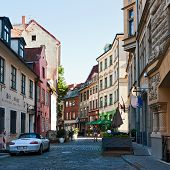 Street In Old Town, Riga