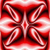 Design Colorful Twirl Illusion Background