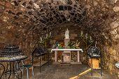 Inside Chapel Near Church Nostra Signora Di Tergu