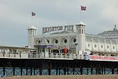 El Palace Pier en Brighton UK