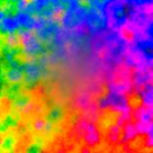Rainbow Color Abstract Background - Colorful Paint