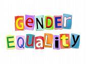 Gender Equality Concept.