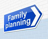 Family Planning Concept.