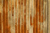 Grunge Rusty Galvanized Background