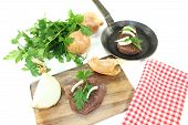Ostrich Steak With Parsley