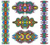 picture of adornment  - ornamental floral decorative ethnic adornment - JPG