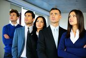 pic of crew cut  - Group of business people in the office - JPG