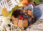 Ethnic Handmade Wooden Bracelet