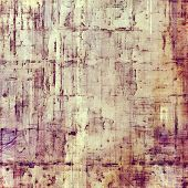 Art grunge vintage textured background. With different color patterns: yellow, brown, gray, purple (violet)