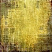Old background or texture. With different color patterns: yellow, brown, gray, green