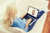 picture of video chat  - home - JPG