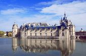 picture of chateau  - Chateau de Chantilly in the Picardie - JPG
