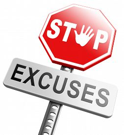 foto of take responsibility  - stop excuses tell the truth - JPG