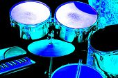 Blue Drums