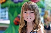 picture of little girls photo-models  - Photo of an adorable smiling little girl - JPG