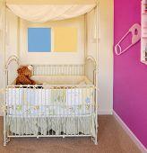 Crib and nursery