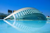 VALENCIA, SPAIN - MARCH 17: The City of Arts and Sciences of Valencia on March 17, 2010 in Valencia,