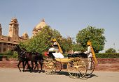 Palace Horse And Carriage