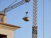 Crane And House