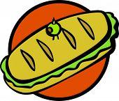 sándwich de sub