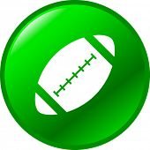 football ball button