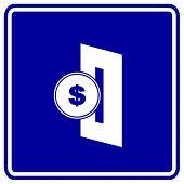 Постер, плакат: вставить знак монета