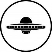 picture of ovni  - alien ship symbol - JPG