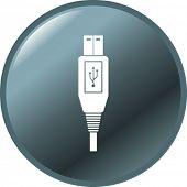 USB-Kabel-Taste