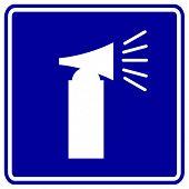 signo de cuerno de aire