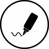 glue symbol
