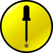 screwdriver button