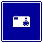 digital camera sign