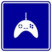 videogame joypad sign