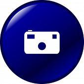 photographic camera button