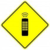señal de control remoto