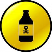 poison button