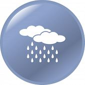 picture of rain-drop  - rain button - JPG