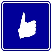 hand thumb up sign