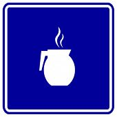 coffee jar sign