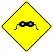 masquerade sign