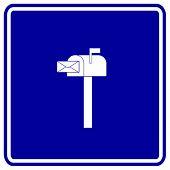 signo de buzón