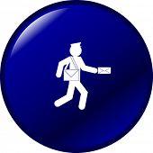 botón de Mailman