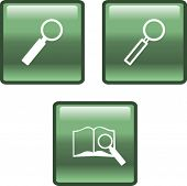 search and magnifier buttons